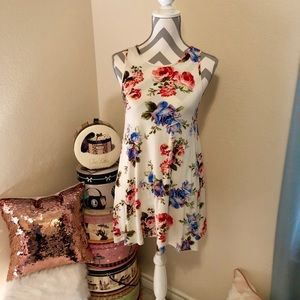 Soft Floral Tunic